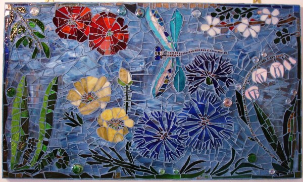 Blue Dragonfly panel