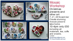 Mosaic workshop november 2015